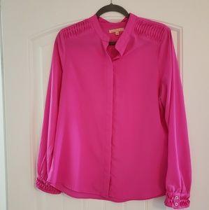 Gibson Latimer Hot Pink Blouse